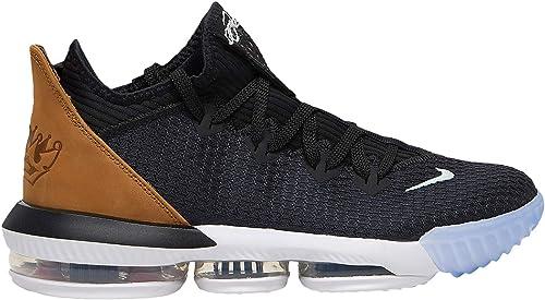 Zapatillas de Baloncesto de Material Sint/ético para Hombre Negro Negro Nike