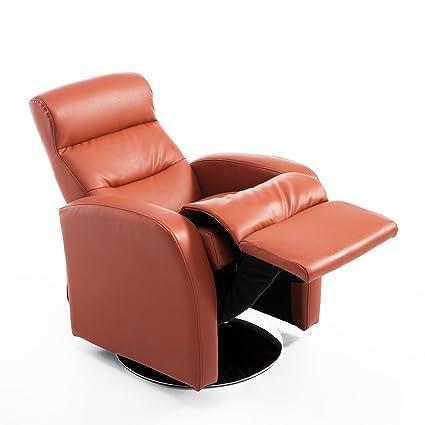 HOMCOM - Sillón reclinable y Piel sintética sillón ...