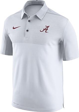 Nike Hombres de Alabama Crimson Tide Elite fútbol diseño blanco ...