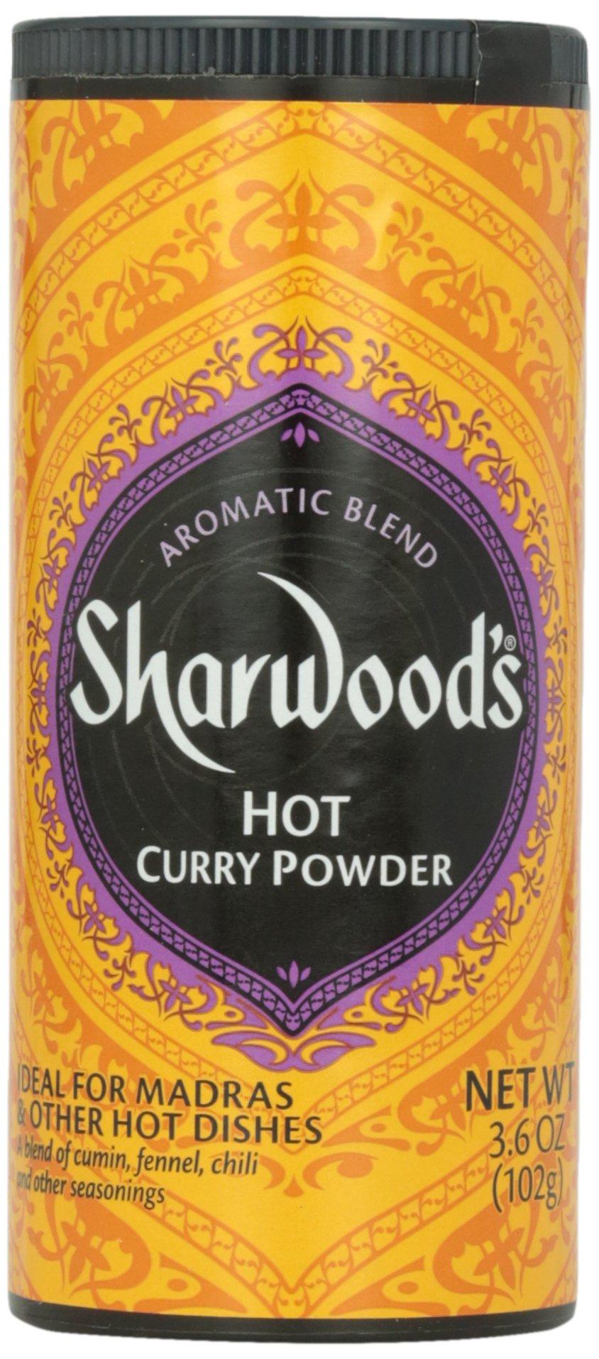 Sharwood Hot Curry Powder, 4 oz by Sharwood (Image #1)