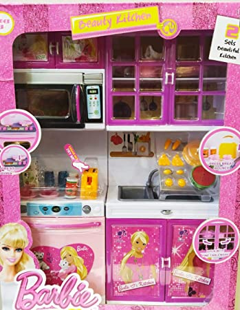 Buy Best Barbie Kitchen Set Online At Low Prices In India Amazon In