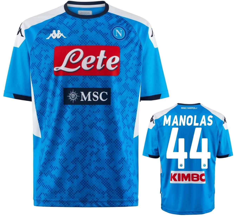 SSC Napoli Maglia MANOLAS Ufficiale 2019-20 Kombat Extra ...