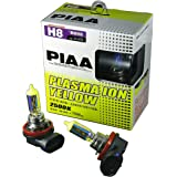 PIAA 18535 H8 Ion Yellow Performance Bulb, (Pack of 2)
