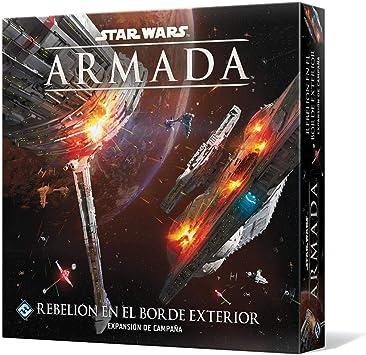 Fantasy Flight Games- Star Wars Armada - Rebelión en el Borde Exterior, Color (SWM31ES) , color/modelo surtido: Amazon.es: Juguetes y juegos