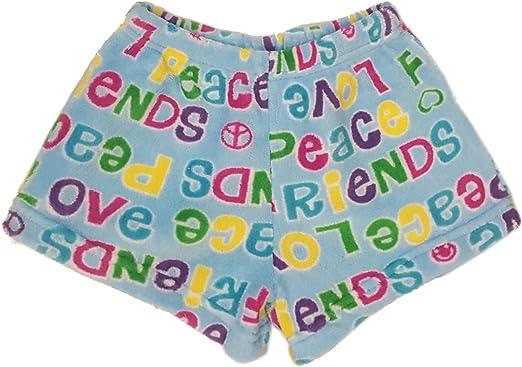 Confetti and Friends Girls Fuzzy Plush Pants