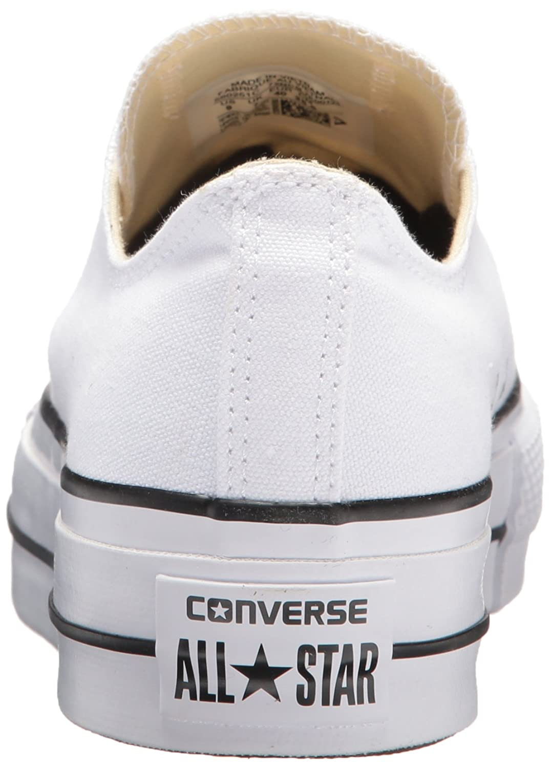 7df71bcd3b56a Converse Women s Chuck Taylor All Star Lift Low-Top Sneakers  Amazon.co.uk   Shoes   Bags