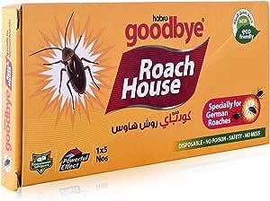 Habro Goodbye Roach House Cockroach Trap (5 Pieces)