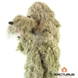 Arcturus Ghost Ghillie Suit for Men | Dense, Double-Stitched Design | Superior Camo Hunting Clothes for Men, Hunters, Military, Sniper Airsoft and Paintball
