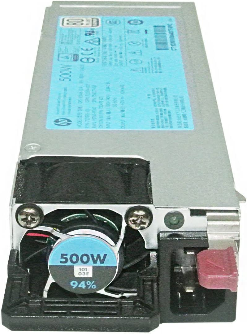 HP 500W Flex Slot Platinum Hot-Plug Power Supply Kit 754377-001