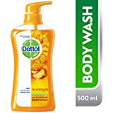 Dettol Re-Energize Anti-Bacterial Body Wash 500ml
