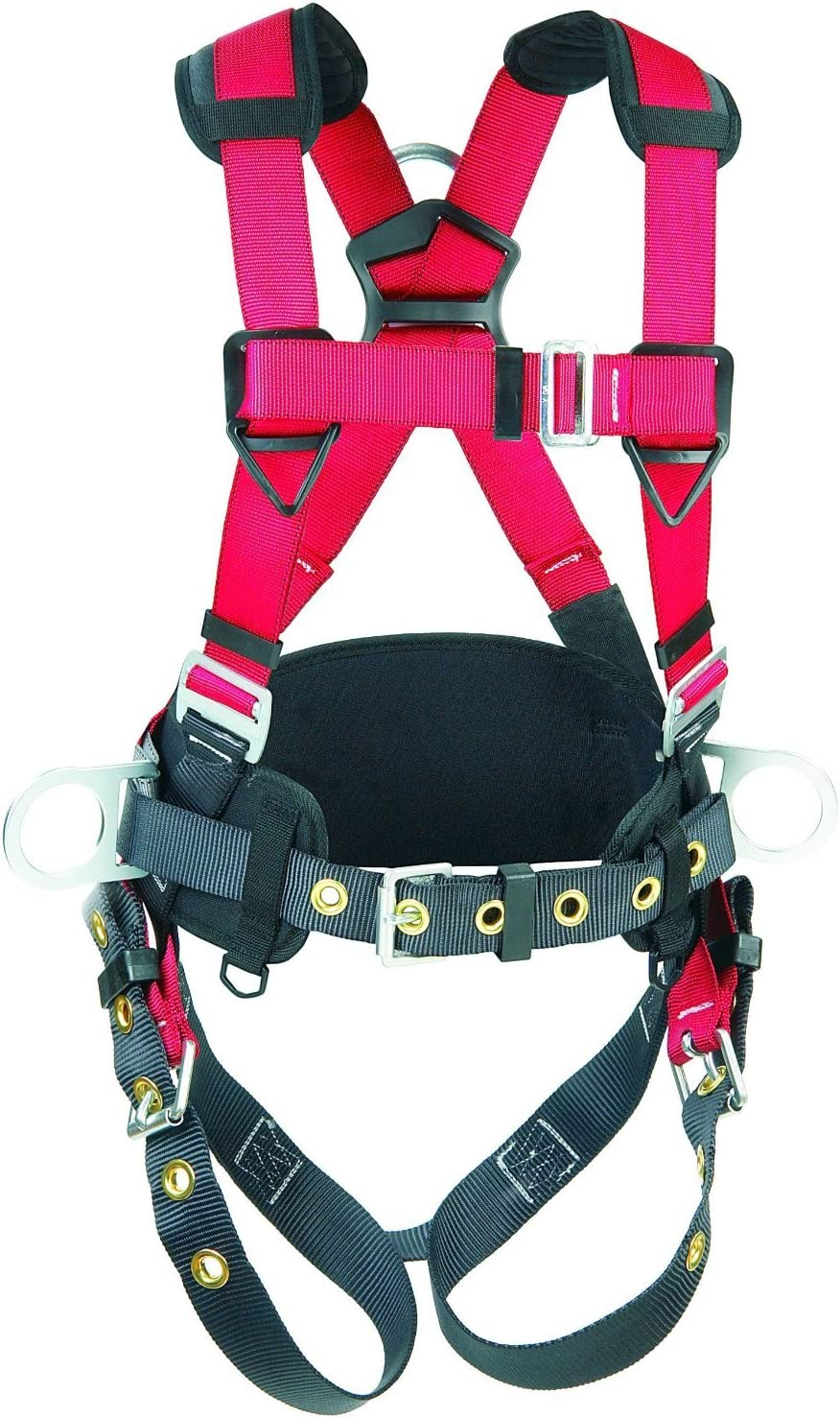 Full Body Harness Red//Gray 420 lb S