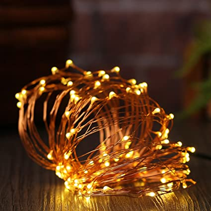 Garden String Lights Interesting Amazon XIAOYI USB String Lights 60 LED 60ft Waterproof