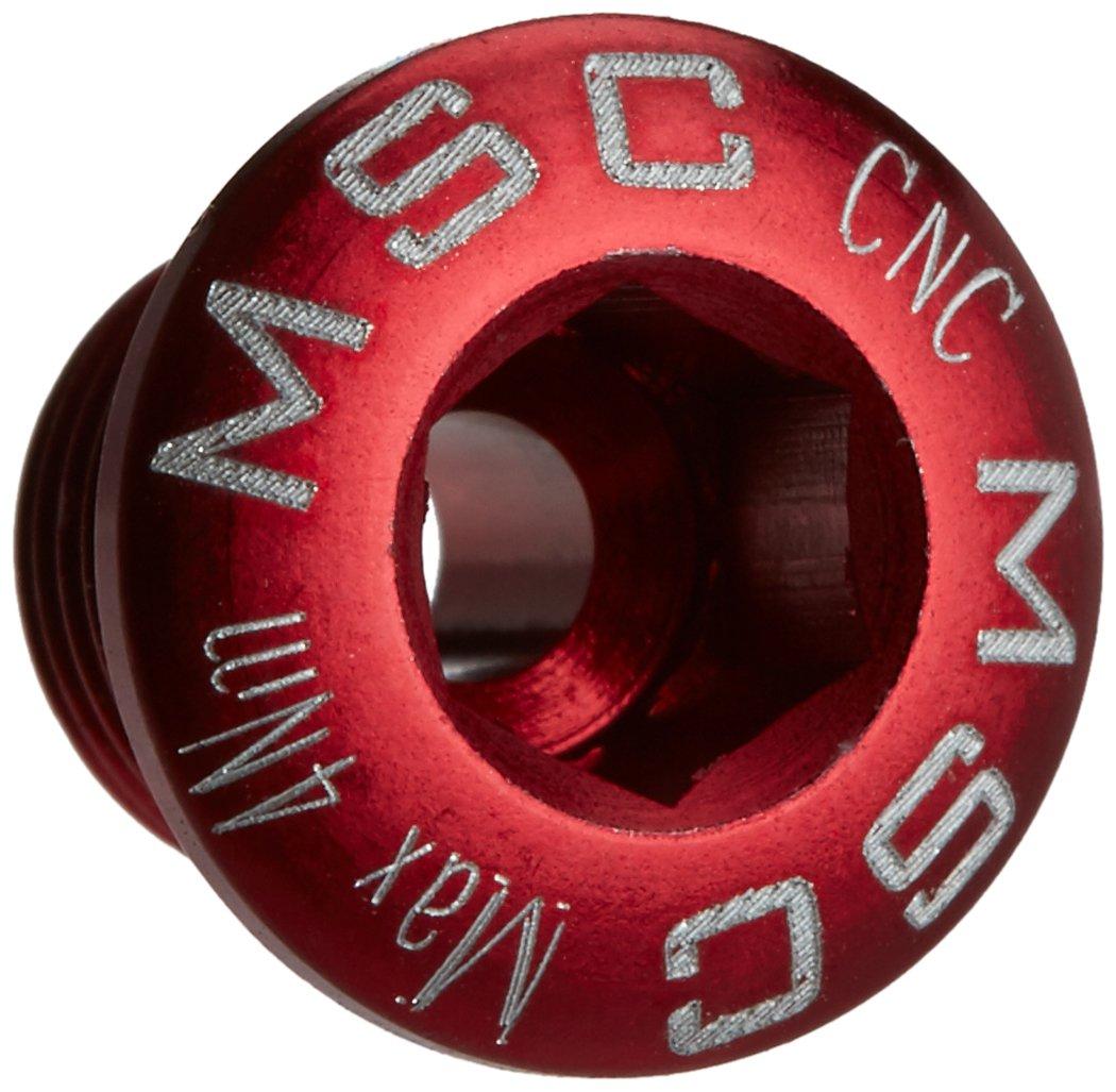 Msc M8X8MSCR4 - Kit tornillos platos m8x8/85 alu7075t6 4 unidades