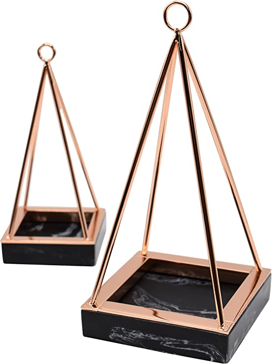 Amazon Com Rosa Rose Jewelry Stand Ring Display Holder Metal Necklaces Earrings Organizer For Womens Home Improvement