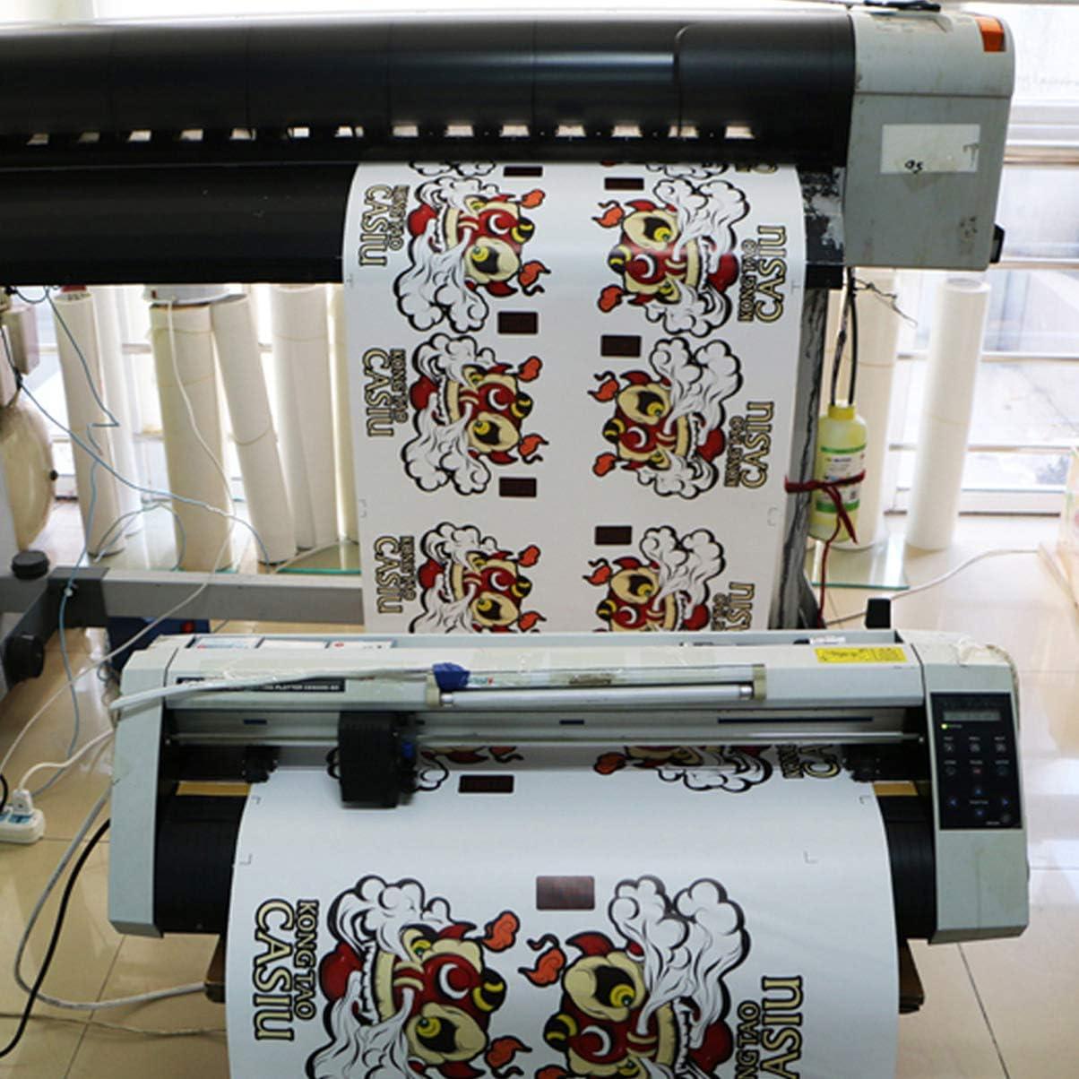 HEALLILY - Vinilo Blanco de Transferencia térmica HTV para Camiseta, Papel de Transferencia, para Ropa, Manualidades, Carpetas para Muebles, 30 x 100 cm: Amazon.es: Hogar