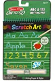 Melissa & Doug On the Go Scratch Art: ABC & 123 Writing Pad With Stylus
