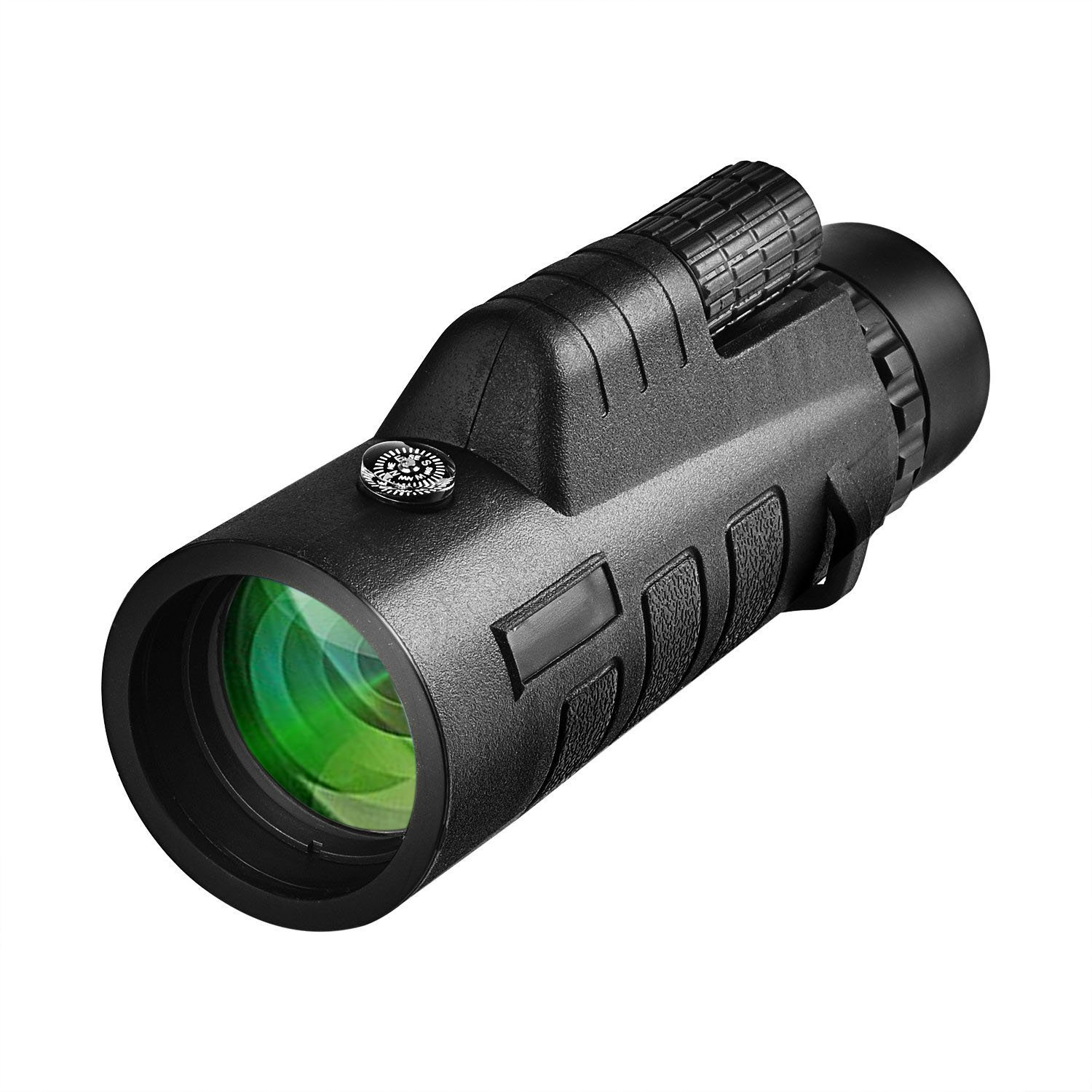 CVLIFE 12x50 Compact Monocular Telescope Pocket Mono Spotting Scope with Compass and Pouch