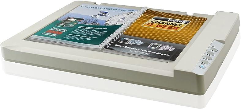 Plustek A3 Flatbed Scanner OS 1180: 11.7x17 Tamaño de escaneo de gran formato para planos y documentos. Diseño para Biblioteca, Escuela y Soho. Escaneo A3 por 9 segundos, compatible con Mac y