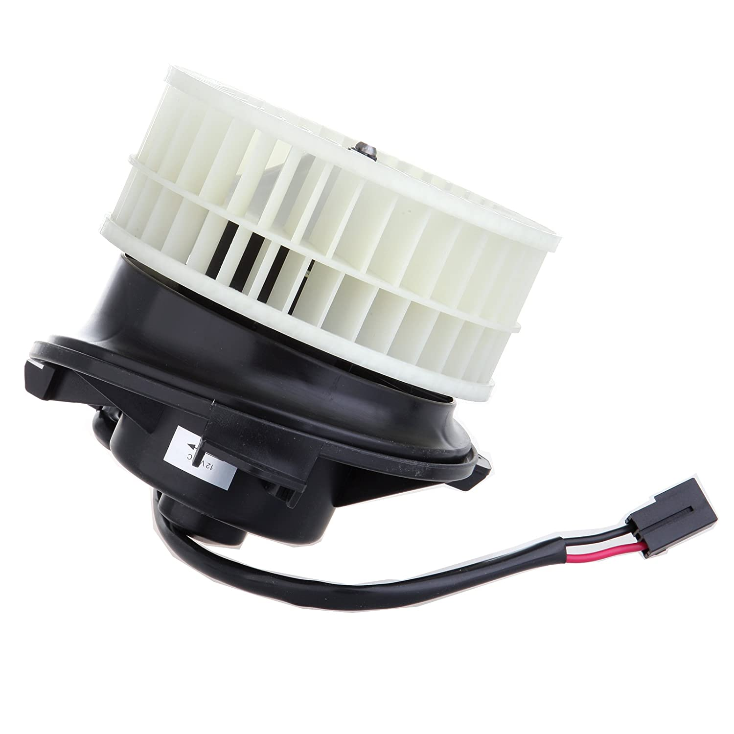 HVAC plastic Heater Blower Motor w/Fan Cage ECCPP Replacement fit for 2004-2008 Chrysler Pacifica 2001-2007 Chrysler Town & Country 2001-2007 Dodge Caravan 2001-2007 Dodge Grand Caravan 058376-5211-0925482