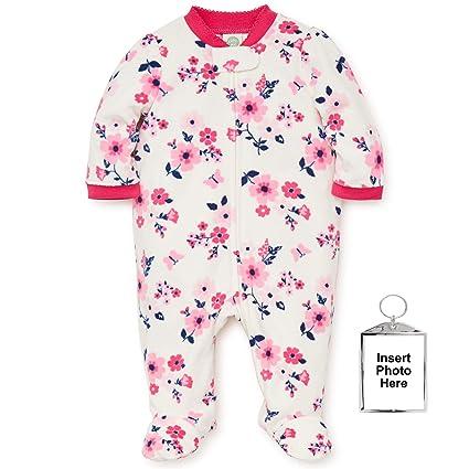Little Me Heart Elephant Blanket Sleeper Girls Winter Footed Pajamas-Pink-18 Mth