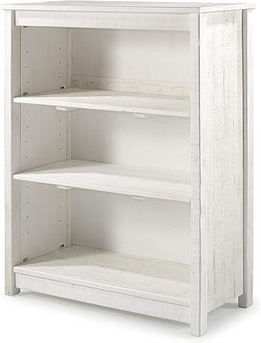 Alaterre Furniture Rustic Tall Bookcase