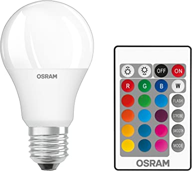 Osram 045675 Bombilla LED E27, Blanco: Amazon.es: Iluminación