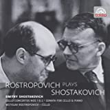 ロストロポーヴィチ・プレイズ・ショスタコーヴィチ (Rostropovich plays Shostakovich ~ Dmitry Shostakovich : Cello Concertos Nos 1 & 2 'Sonata for Cello & Piano' / Mstislav Rostropovich (cello)) (2CD) [輸入盤]
