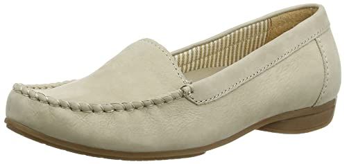 GaborColumbia - Mocasines Mujer, Color Beige, Talla 38 EU: Amazon.es: Zapatos y complementos