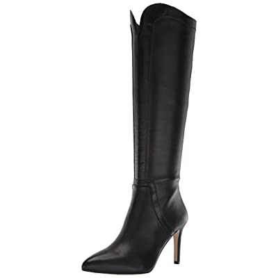 ADRIENNE VITTADINI Womens Nalani Solid Knee-High Dress Boots | Knee-High