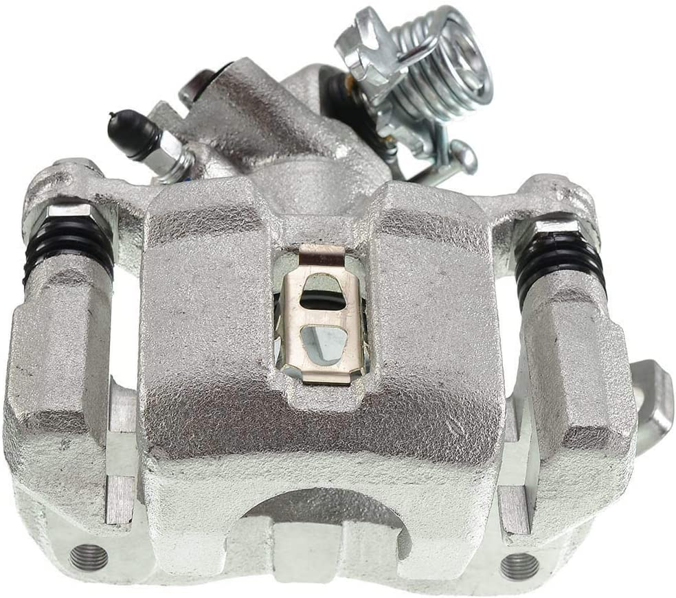 Rear Driver Side Brake Caliper Assembly Compatible with Honda Civic 2002-2005 Acura EL 2002-2006 RSX 2001-2005