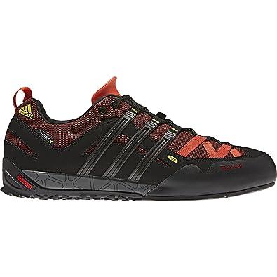 5ce10a6eed9 Adidas Outdoor Terrex Solo Approach Shoe - Men s Sharp Orange Black Yellow  Spice