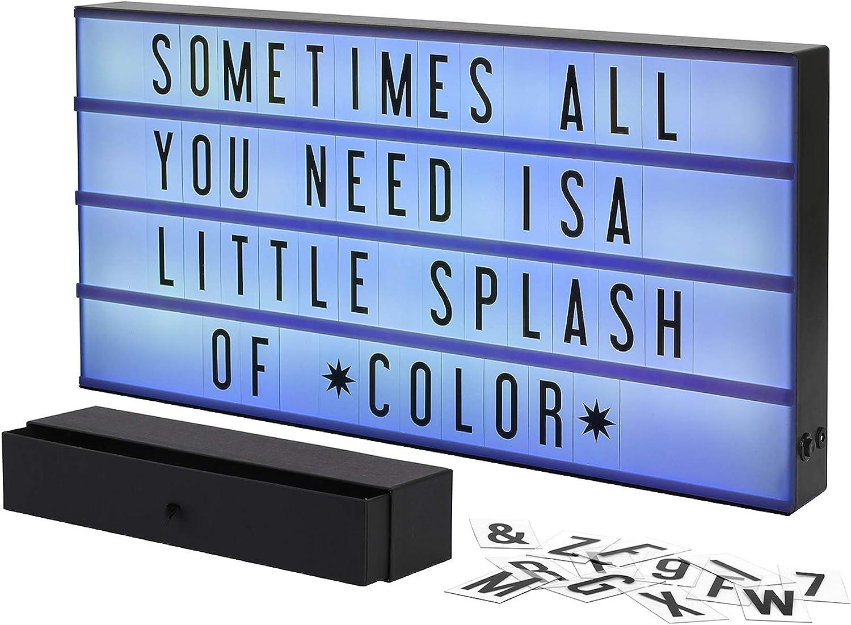 Amazon.com: My Cinema Lightbox – Señales de cartel que ...