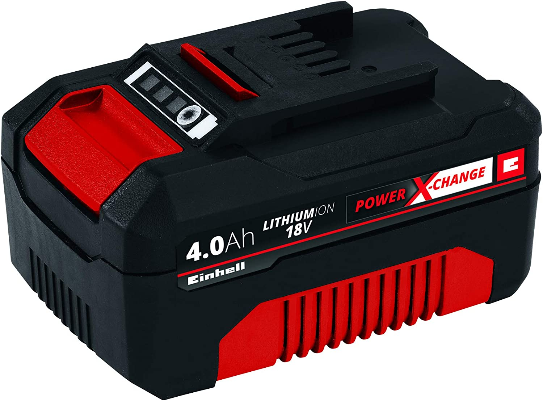Einhell 4511396 Power X-Change - Batería de repuesto, 18 V, 4.0 Ah, duración de carga de 60 minutos