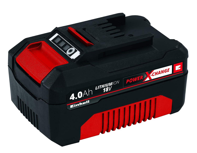 Einhell 4511396 Power X-Change - Batería de repuesto, 18 V, 4.0 Ah, tiempo de carga de 60 minutos