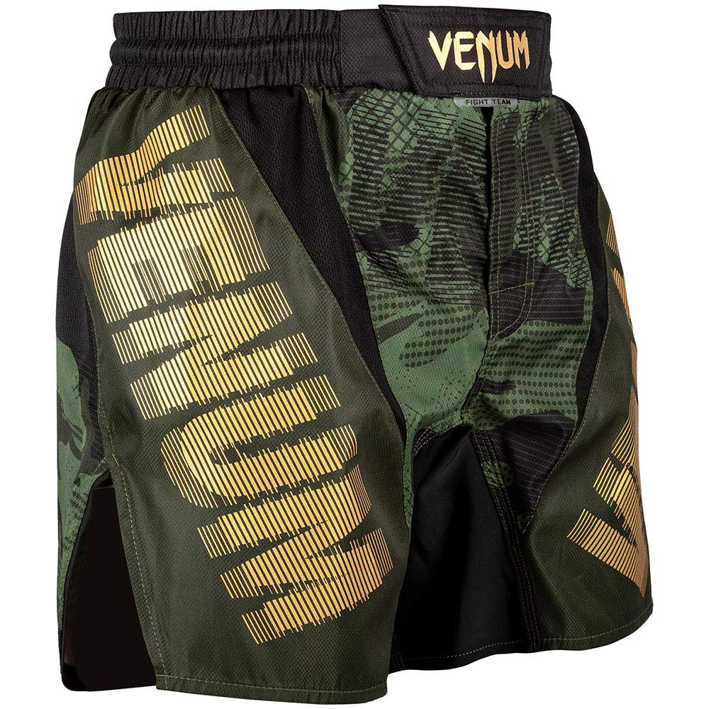 gr/ün-Gold Venum MMA Fight Shorts Tactical