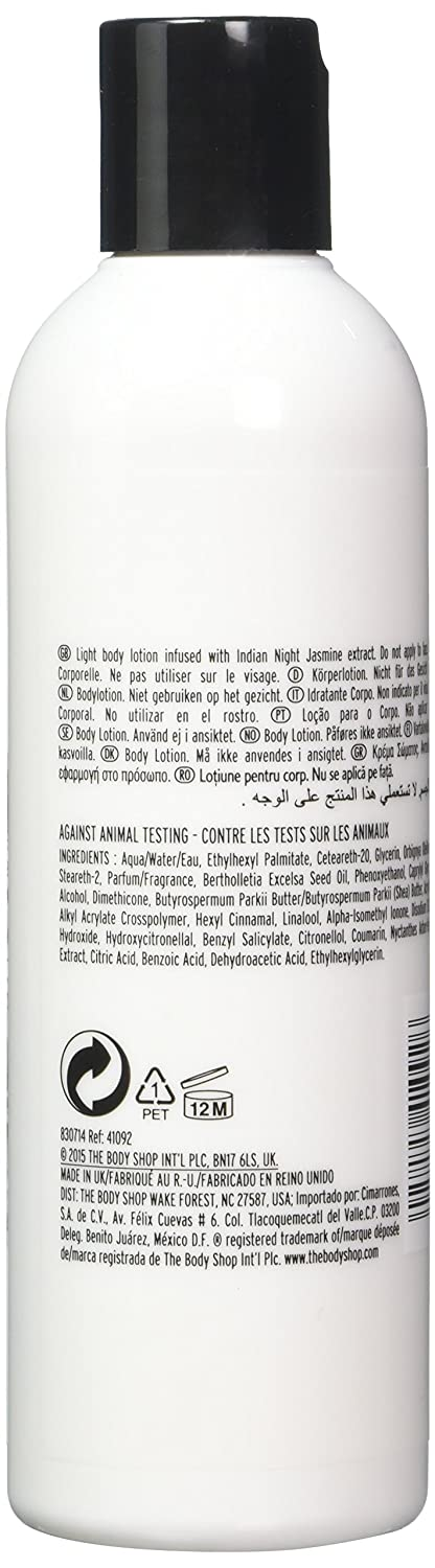 Amazon Com The Body Shop Indian Night Jasmine Body Lotion 8 4