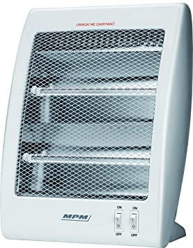Mpm - radiador de quarzo 2 Niveles de Potencia 800W MUG-09 ...