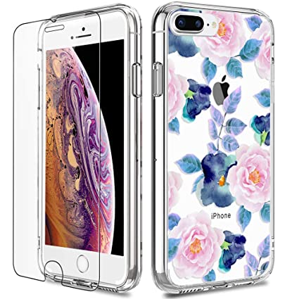 Amazon.com: LUHOURI - Carcasa para iPhone 8 Plus y iPhone 7 ...