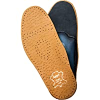 Orthotic Leather Insoles for Children with Flat Feet, Shock Absorbing, Relax Kids
