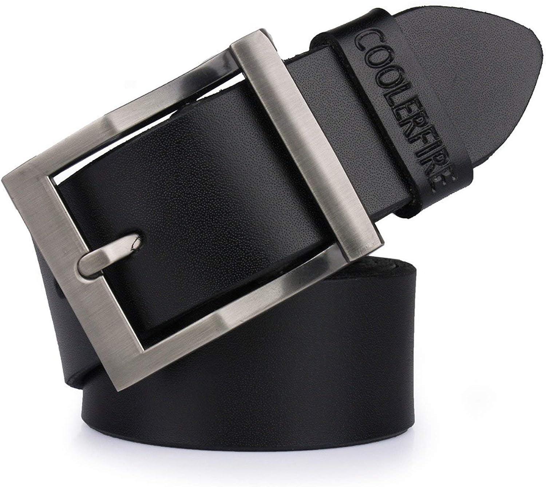 leather belts for men cowboy Luxury strap brand male vintage fancy jeans designer belt men
