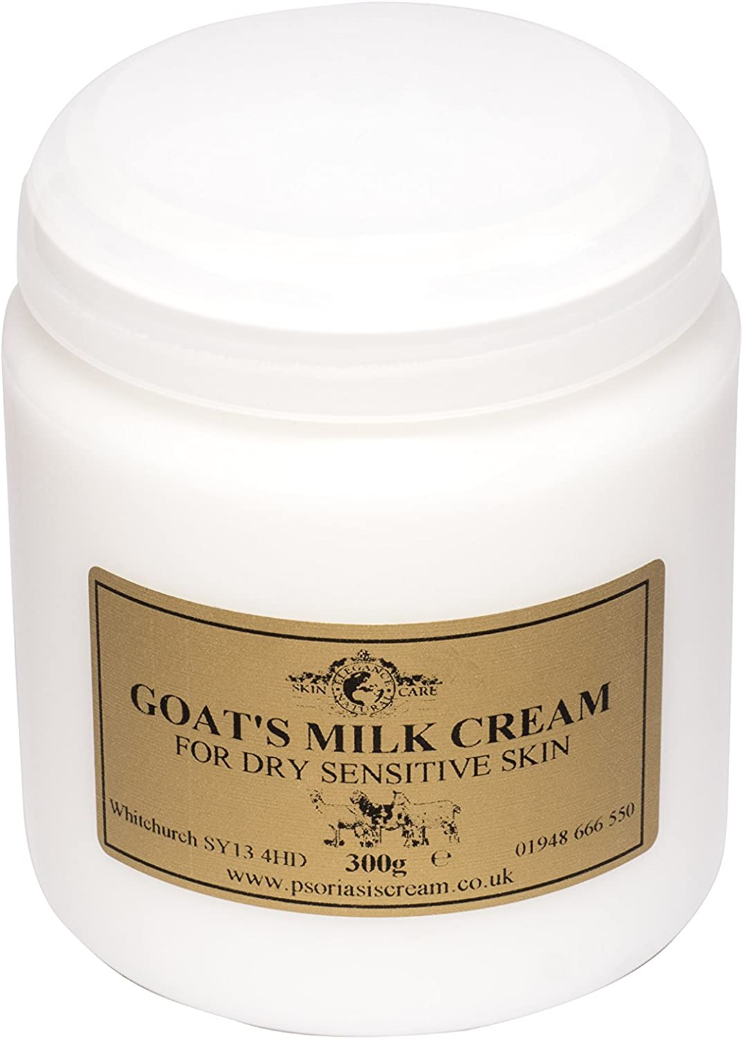 Goat S Milk Moisturising Cream 300g By Elegance Natural Skin Care For Psoriasis Eczema Dry Skin Dermatitis Rosacea Sensitive By Elegance Natural Skin Care Amazon De Drogerie Körperpflege