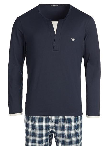 Emporio Armani - Pijama - para hombre Azul marino XL
