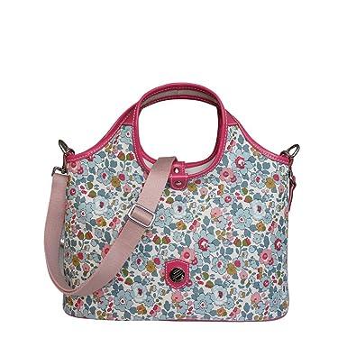 Betsy Handbag And Print Bonfanti Bag Shoulder Liberty Grab Blue pCnTq5