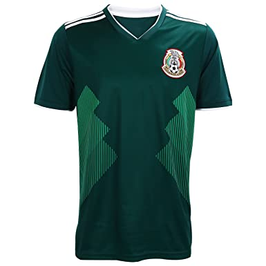 Mexico Soccer Jersey, Camiseta Replica National Soccer Team Color Green (Small)