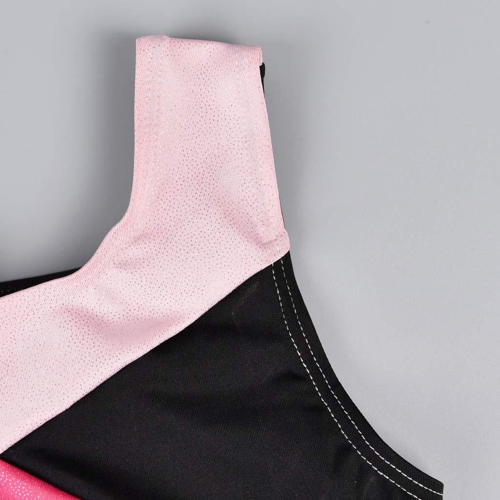 Efaster Kid Baby Girl Leotard Dance Ballet Training Bodysuit Dancewear Jumpsuit Dress 4-8 Years