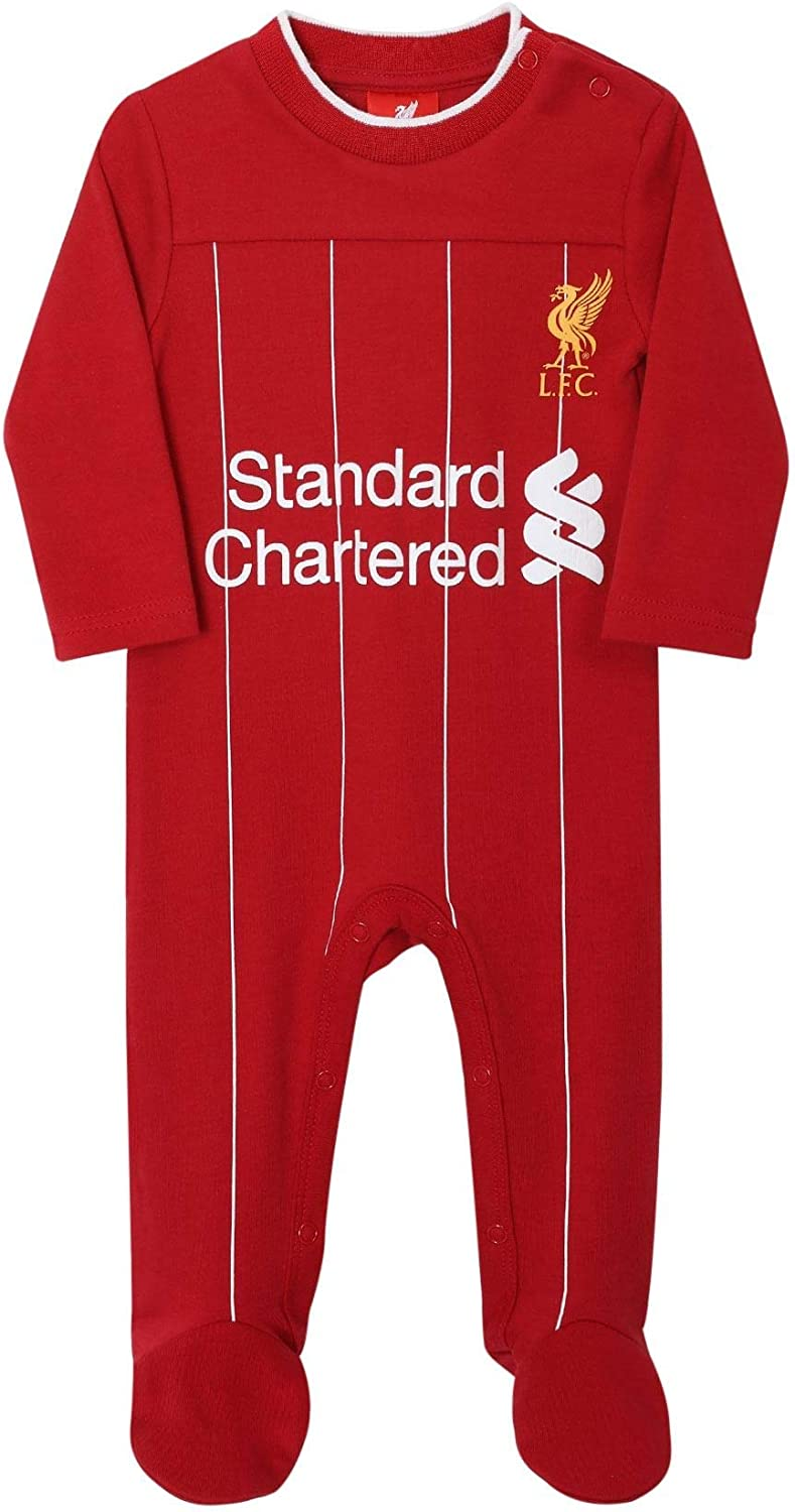 Liverpool FC Baby Kit Sleepsuit 19//20 LFC Official