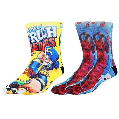 7 PAIRS 3D Skull Bones Socks Novelty Socks For Mens Socks Ideas Hot B X3U7