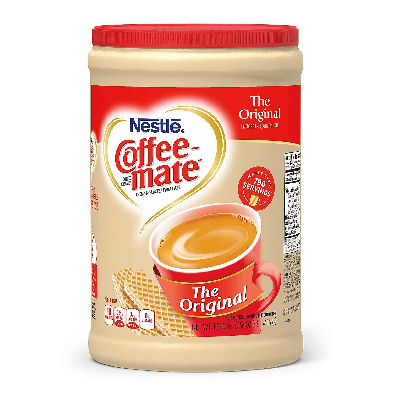 Coffee-Mate Powder Original, 56 oz (8 Pack) by Coffee-mate