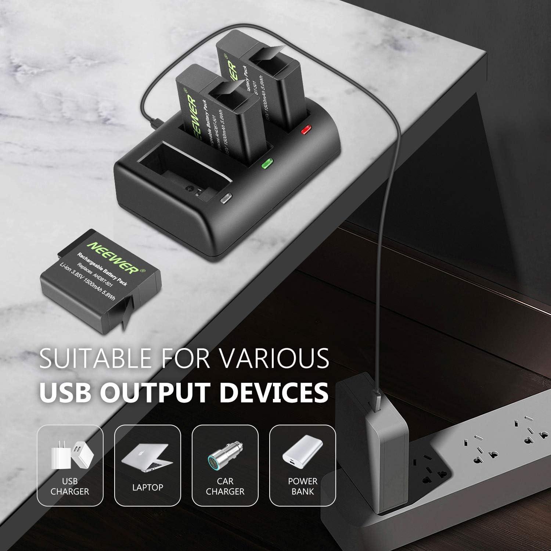 Neewer Ladegeräte Kit Kompatibel Mit Gopro Hero 5 Kamera