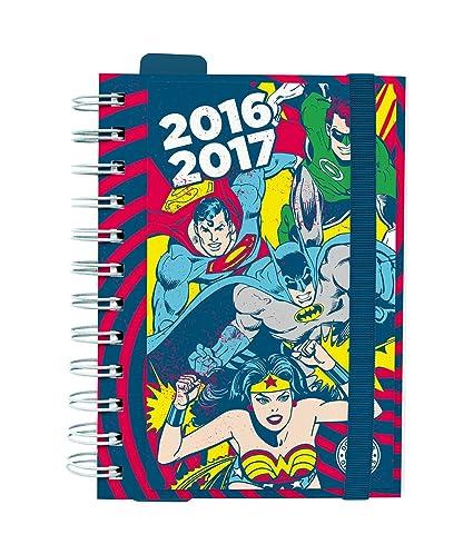 Grupo Erik Editores Dc Comics Classic - Agenda escolar dp 2016/2017, 11.4 x 16.5 cm